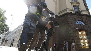 تظاهرات ضد دولتی در مسکو، پایتخت روسیه