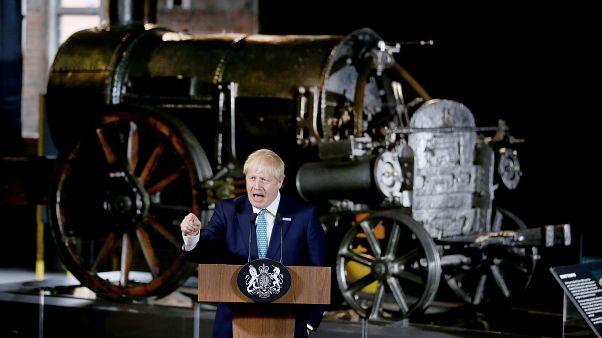 """Boris Johnson ve en el Brexit una """"gran oportunidad económica"""""""