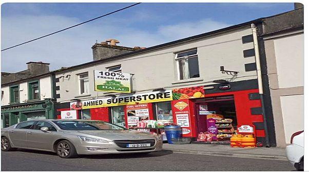 محل تجاري مسلم في إيرلندا أثار استهجان صحفية إيرلندية