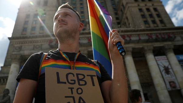 Marches for LGBT rights in Warsaw and Berlin after Pride attack in Poland