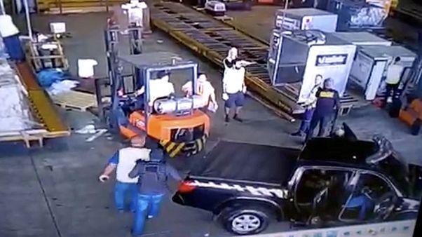 Brezilya'da 30 milyon dolarlık soygun: 750 kilo altın çalındı