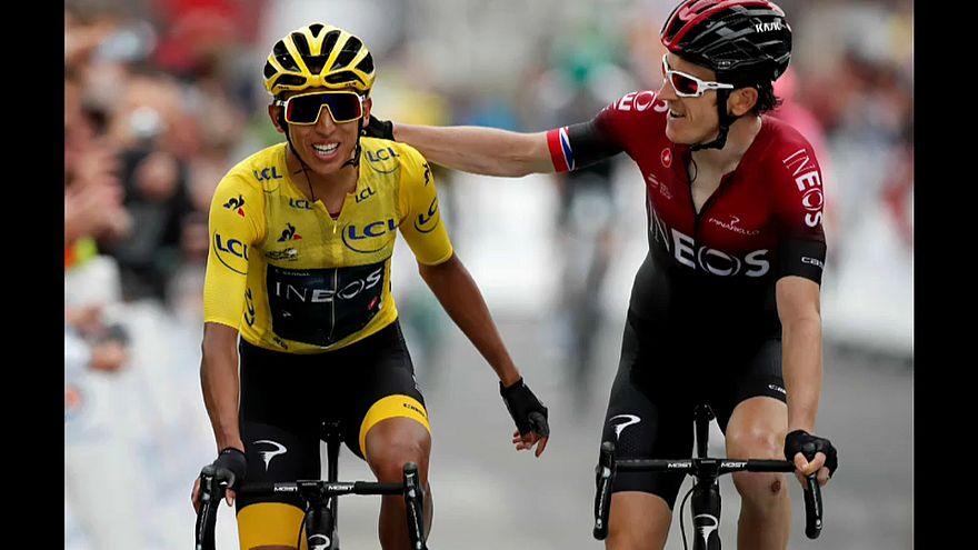 El colombiano Egan Bernal entra en la historia del Tour de Francia