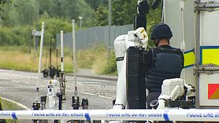 Polícia da Irlanda do Norte volta a ser alvo atentado