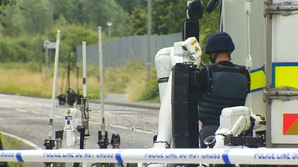 Suspected terrorist attack in Craigavon