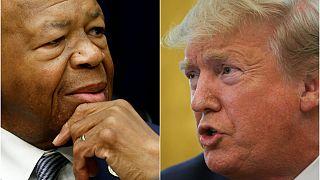 Trump'dan göçmen politikasını eleştiren Cummings'e: Kabadayı, git ve pis bölgeni temizle