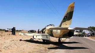 Doğu Libya güçlerine bağlı bir savaş uçağı hafta başında Tunus'a acil iniş yapmak zorunda kalmıştı