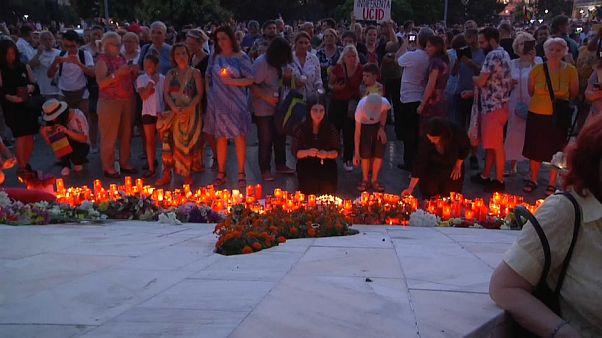 Romanya'da binler kaçırılan 15 yaşındaki kız için sokaklarda