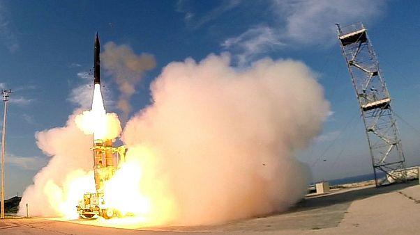 اسرائیل سامانه ضد موشکی پیکان ۳ را با «موفقیت» آزمایش کرد