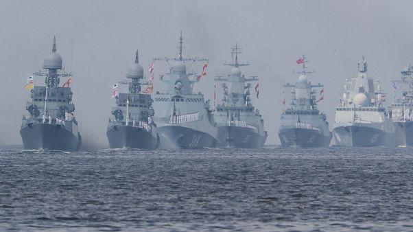 Dia da Marinha na Rússia: Putin enaltece tripulações navais