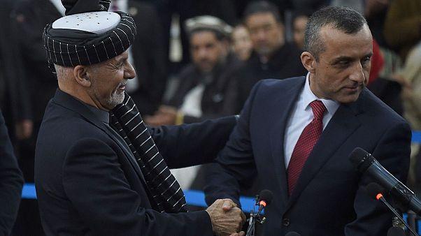 امرالله صالح به همراه اشرف غنی