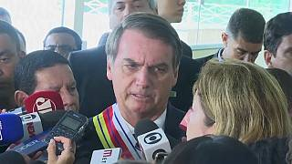 Bolsonaro ameaça jornalista de prisão