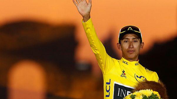 Egan Bernal, el ciclista colombiano que venció la maldición del Tour