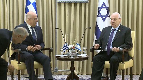 Глава МИД Греции посетил Израиль