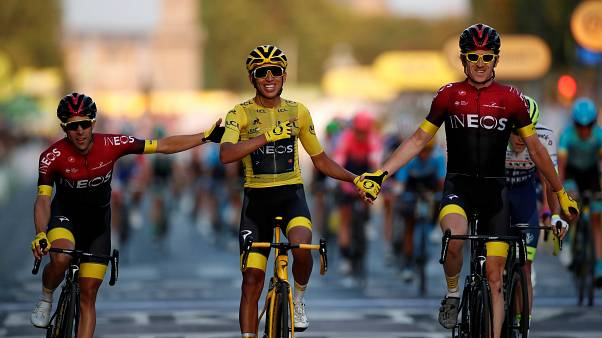 Egan Bernal vence Tour
