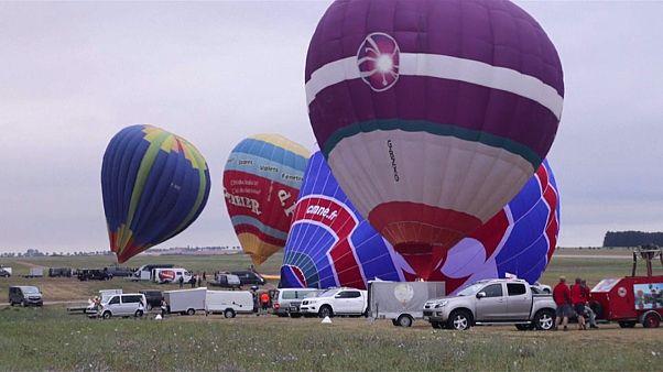Le plus grand rassemblement de montgolfières au monde en Lorraine