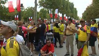 Ντελίριο ενθουσιασμού για τους Κολομβιανούς στο Παρίσι