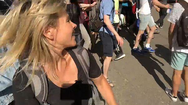 Vivimos desde dentro la represión de la manifestación en Moscú