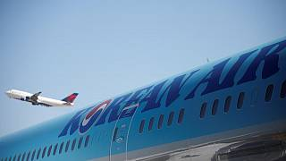 Kore Havayolları'na ait yolcu uçağı