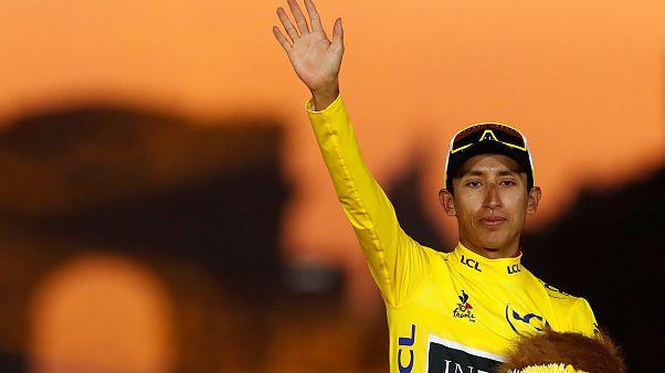 Egan Bernal, Fransa Turu'nu kazanan ilk Kolombiyalı oldu