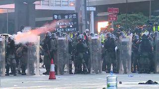 اعتراضات خشونت آمیز در هنگ کنگ بر سر «لایحه استرداد متهمان»