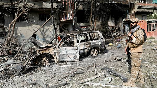حمله به دفتر امرالله صالح در کابل