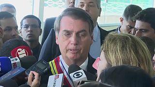 Bolsonaro insinúa el encarcelamiento de un periodista