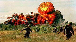 Vietnam War 1968 - US Napalm Strike