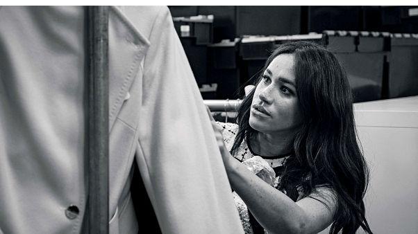 Ilyen Vogue-ot szerkesztett Meghan hercegnő