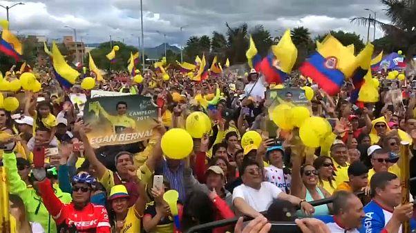 Ελπίδα της Κολομβίας ο νικητής του Γύρου της Γαλλίας