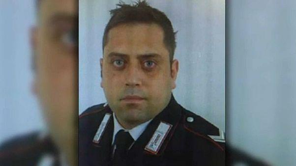 A megölt csendőrtiszt, Mario Cerciello Rega