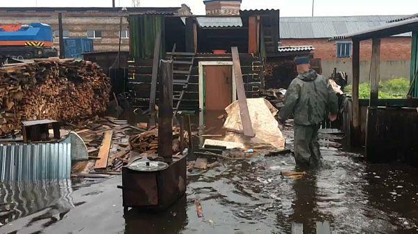 Пожары и наводнения в Сибири