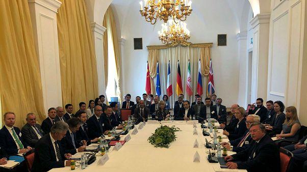 İran nükleer anlaşmasına taraf ülkelerin temsilcileri Viyana'da bir araya geldi