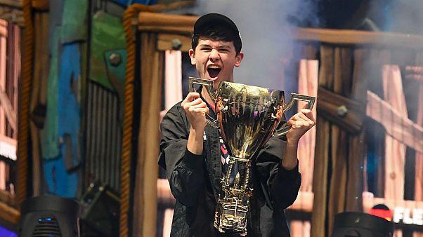 کیل گیرسدورف، نوجوان آمریکایی برنده جایزه ۳ میلیون دلاری جام جهانی بازی آنلاین فورتنایت