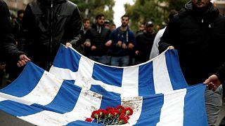 درگیری پلیس یونان با دانشجویان بر سر قانون منع ورود نظامیان به دانشگاه