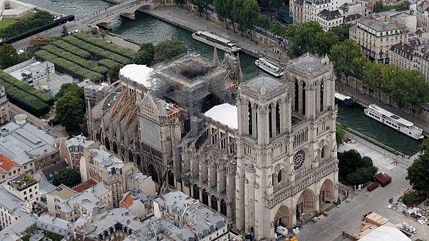 Notre-Dame de Paris, le 14 juillet 2019