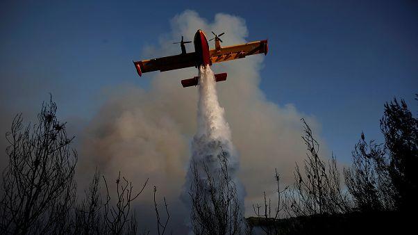 Ελλάδα: 32 πυρκαγιές σε όλη τη χώρα τη Δευτέρα
