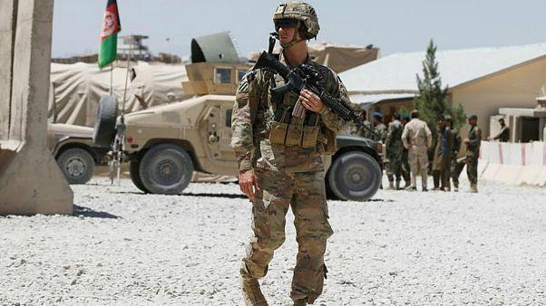 نظامی آمریکایی در افغانستان