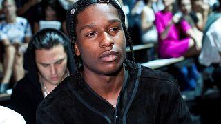 U.S. rapper ASAP Rocky