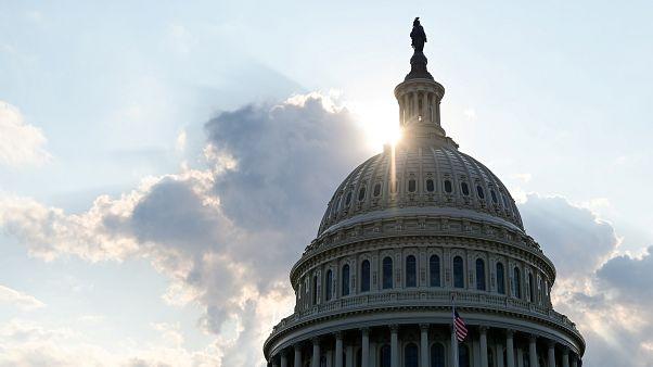 قبة مبنى الكابيتول، مقر الكونغرس الأميركي