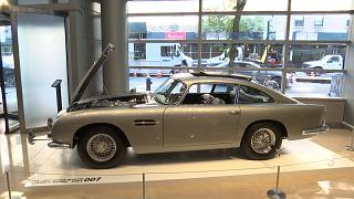 James Bond's iconic Aston Martin sells for over 5m euros