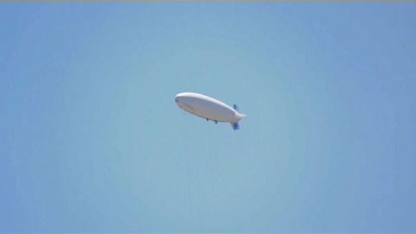 Un zeppelin pour surveiller la frontière gréco-turque