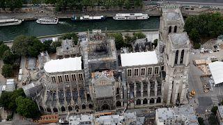 Pollution au plomb : reprise des travaux à Notre-Dame de Paris