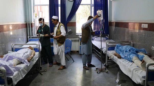 Os feridos foram assistidos no Hospital de Herat