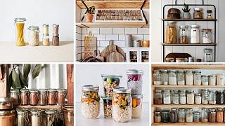 25 snaps of absolutely perfect 'zero-waste' kitchen shelves
