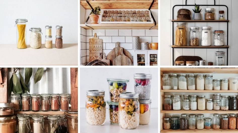 25 Snaps Of Absolutely Perfect Zero Waste Kitchen Shelves