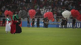 برگزاری افتتاحیه بازیهای غرب آسیا در کربلا با حضور پررنگ زنان