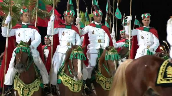 شاهد: احتفالات العيد العشرين لاعتلاء الملك محمد السادس عرش المغرب