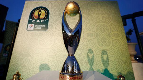 كأس بطولة دوري أبطال أفريقيا في القاهرة بمصر يوم 20 مارس آذار 2019