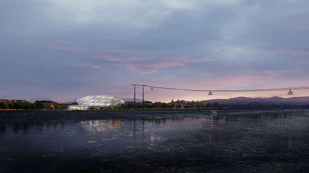 El primer teleférico transnacional conectará Rusia y China en 8 minutos