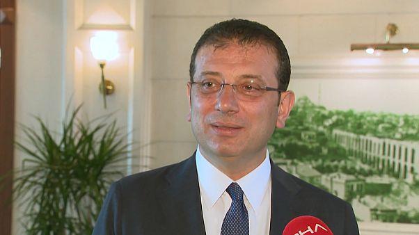 İstanbul Büyükşehir Belediye Başkanı Ekrem İmamoğlu,